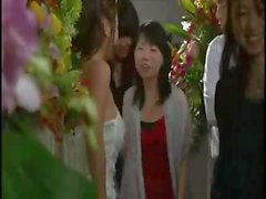 Busty Asian girl is at her wedding ceremony and bangs the ex