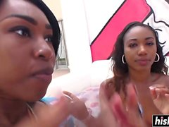 Chanell Heart and Ashton Devine share dick