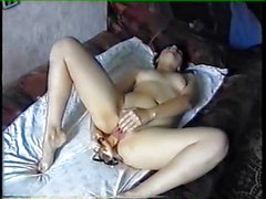 Russian amateur fucked by boyfriend