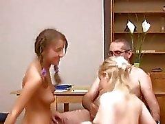 Naked teen girl