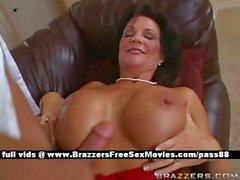 Busty Milf Does Blowjob