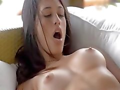 Absolutely gorgeous glamour masturbating