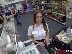 Fucking A Sexy Latina Stewardess