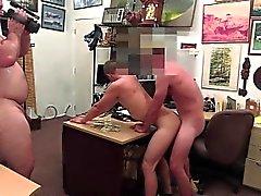 Blonda sexig häck beroende i rumpan