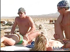 Candi loves outdoor sex