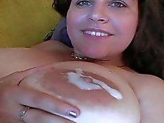 Tittyfucking big boobs: Denise Davies