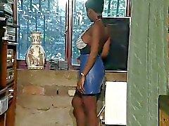Sexy Petite Ebony Goddess Lactating Her Big Tits