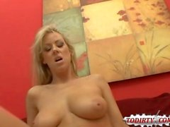 Cock Crazy Blonde Carolyn Reese Gets Laid