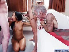Nikki Kay loves getting pounded by horny old men