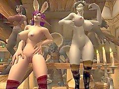 Warcraft Bunnies in HD