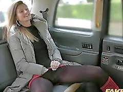 Seductive passenger analed by the driver