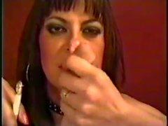 Verbal smoking blow job