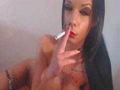 Red Lips Smoking