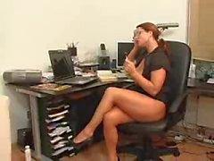 Redhead secretária gostosa (alemão)