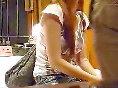 Prostituição modelo coreano b -lista capturado em câmera escondida 8