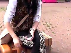 Four amateur girls fucking on public for shopping free