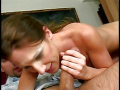 College chick banged by teachers dick