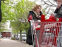 Französisch reif Sofia sich im Außen gefickt