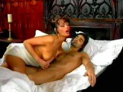 Anita Blonde Rides Romeo In Mansion