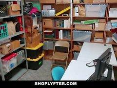 ShopLyfter - Hippy Teen Fucks Fraud Detective