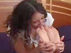 MSI Britney and Sabina Love Feet