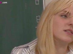 blonde teacher interracial sex by student 1