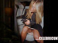 Jennifer Anis nipplar samt klanta sig