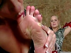 Czech sexy Füße - Gefesselt und Angebetet in Paris
