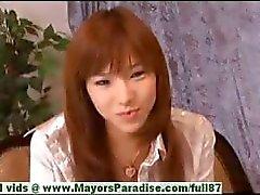 Serina Hayakaw hot girl hot estudante chinês goza de masturbação por um amigo