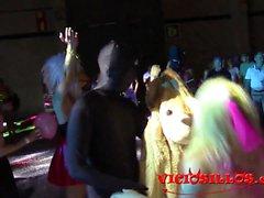 Espectacular fiesta performance en el Valencia Sex Festival