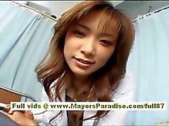 Risa Kasumi asiatisch Amme mit ficken Partei