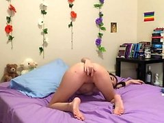 Latin teen amateur jerks