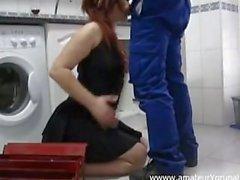 Di Una Zorrita española con el idraulico