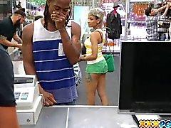 Black dude sells his latina girlfriend