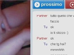 ChatRandom - 30enne italiana si diverte in cam !