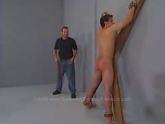 Spanking Jake ass to red