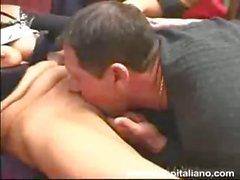 Italian Amateur Samanta Milanese