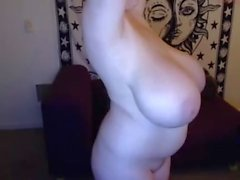 Chubby blonde with huge tits cam porn