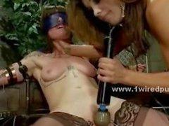 Lesbian mistress exploring fantasies