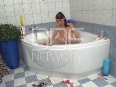 Sexy Bath Tub Masturbation with Merilyn Sekova!