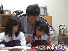 Teacher And Cute Schoolgirl 003