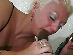 Blonde MILF gets Wrecked By Black Guy