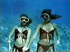 vintage pehmeä erotiikka ( vedenalainen striptease )