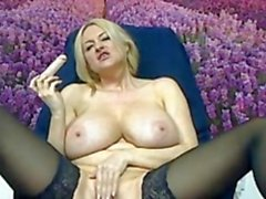 Mature big titted Russian Yasmin