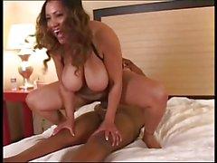 Busty MILF Kira Rodriguez Loves Dark Meat