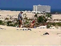 Mariels Niece and the old man on the beach