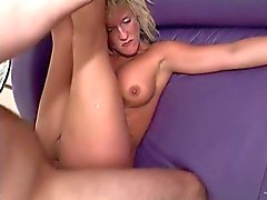 mature blonde anal slut