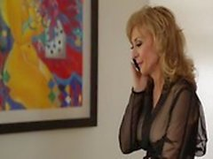 Lili Cade fucks Nina Hartley very hard from behind