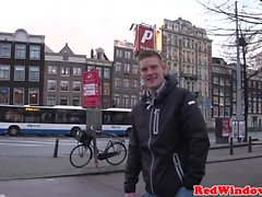 Real sextourist bang BBW hora i Amsterdam