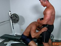 muscle gay oral sex and cumshot feature film 1